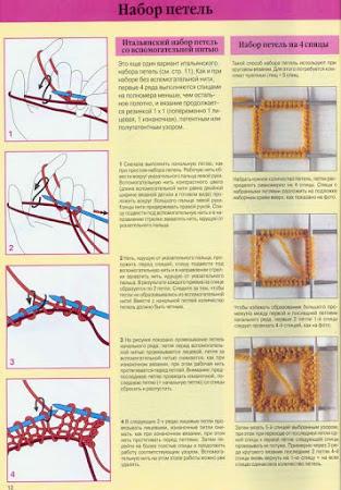 СПИЦЫ: вязание круговое (трубой бесшовное) и от центра