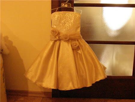Шикарное платье для маленькой девочки