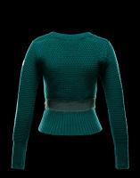 Волшебницы изумрудного свитера от Moncler (спицы)