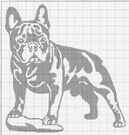 Собачья тематика в вязании