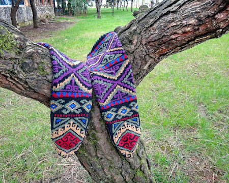 Вяжем носки - 2