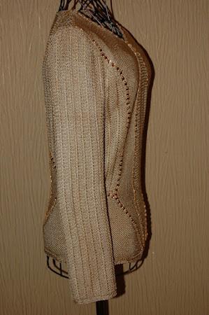 Шелковый топ от Оскара де ла Рента с пуговками