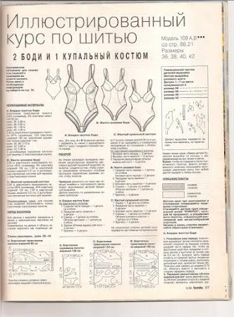"""Ищу модель/описание/выкройку из журнала """"Бурда"""" -2"""