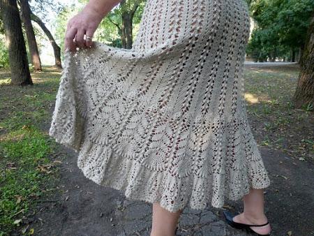 Одежда с элементами  из салфетки