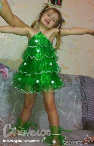 Как сделать костюм елка своими руками
