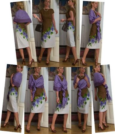 Как удлинить короткое платье на резинке