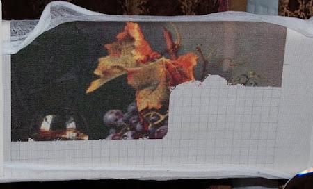 Golden Kite - процессы вышивки
