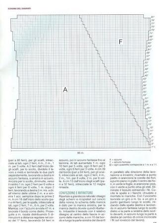 Модели из меланжевой и секционной пряжи (спицы)