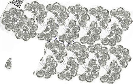Белый снег старинных мотивов-сарафан крючком