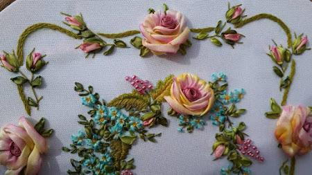Конкурсы вышивки лентами