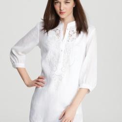 Платье или костюм из льна