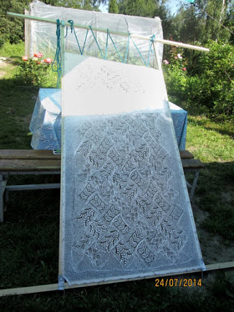 Традиционные эстонские шали