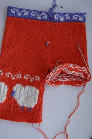 РАЗНОЦВЕТНОЕ вязание, сочетание цветов