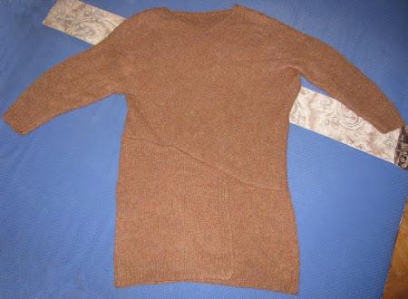 Твидовая головоломка - платье спицами от Stella McCartney