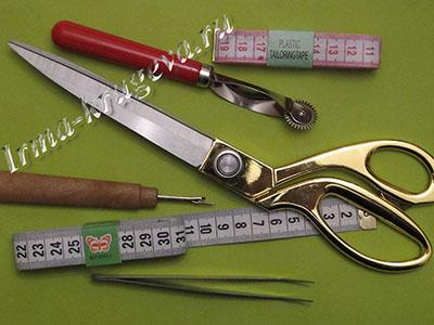 Инструменты для вышивки гладью