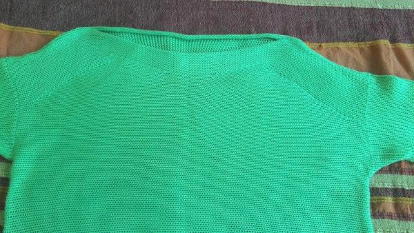 """横织的套衫""""瀑布"""" - maomao - 我随心动"""